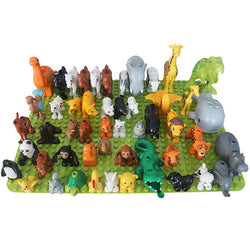 Safari Animals ( 50 Piece Duplo And Lego Compatible )