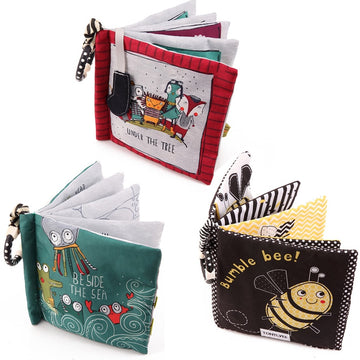 Animal Newborn Cloth Books