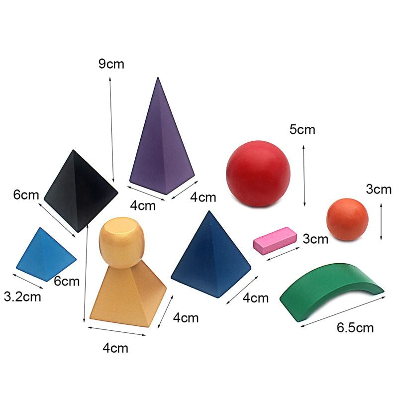 Montessori Shapes Fitting Board
