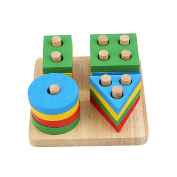 Little Einstein Geometric Stacker