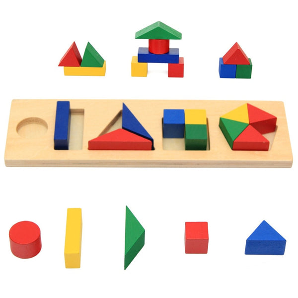 Geometric Block Shape Game