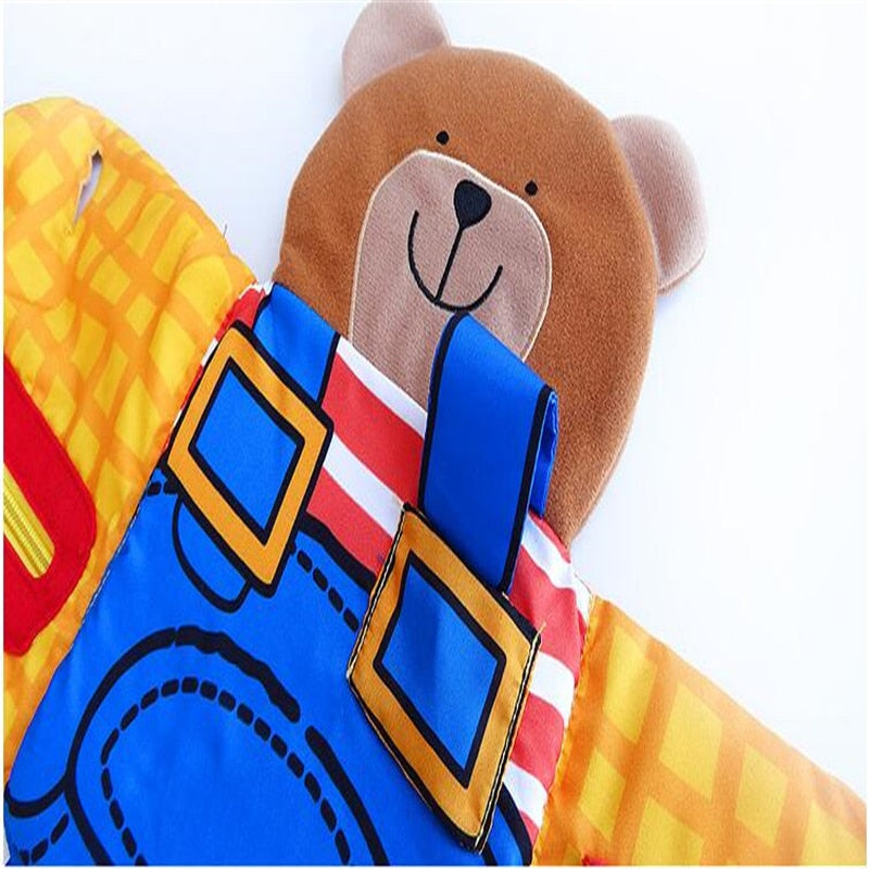 The Dress Up Bear Activity Booklet