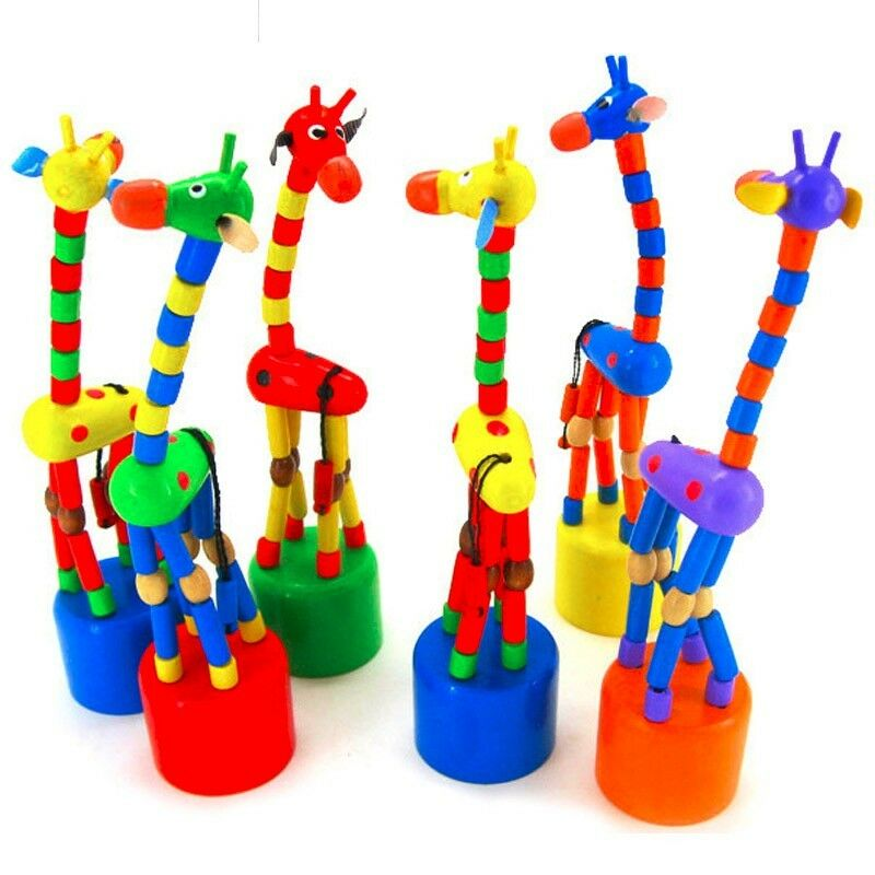 Wooden Girraffe Swinger ( 5 Piece )