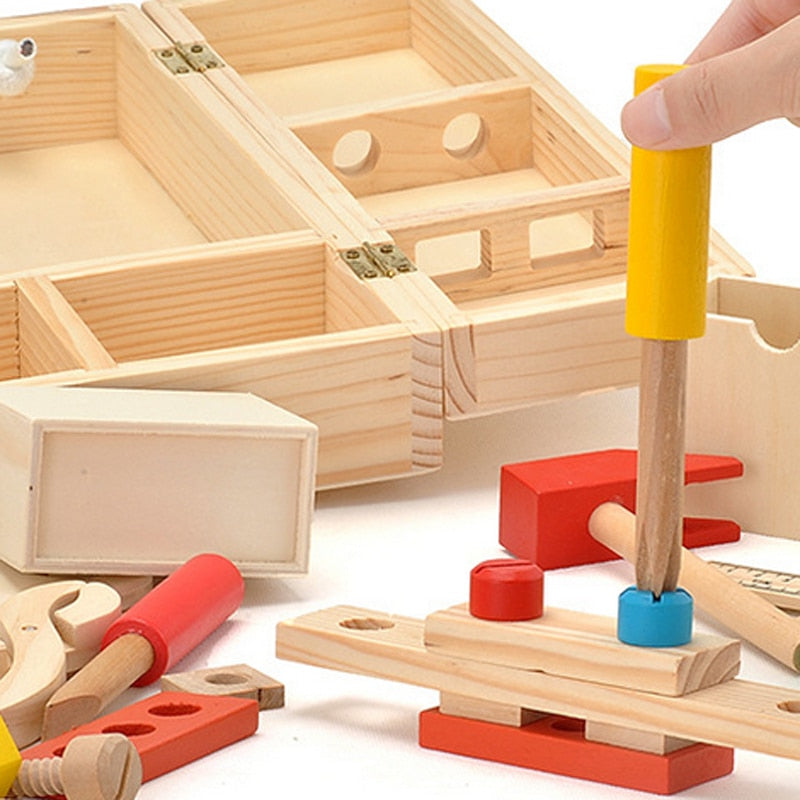 Creative Toolbox (wooden)