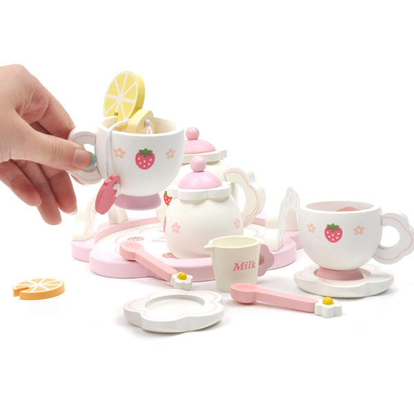 Wooden Tea Party Set