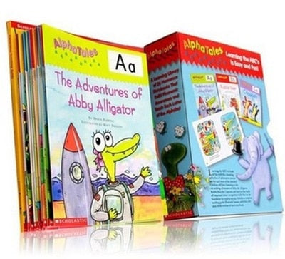 Phonics, Sight Words and Alpha Tales ( 25 Books )