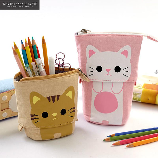 Stretchable Stand Up Pencil Case