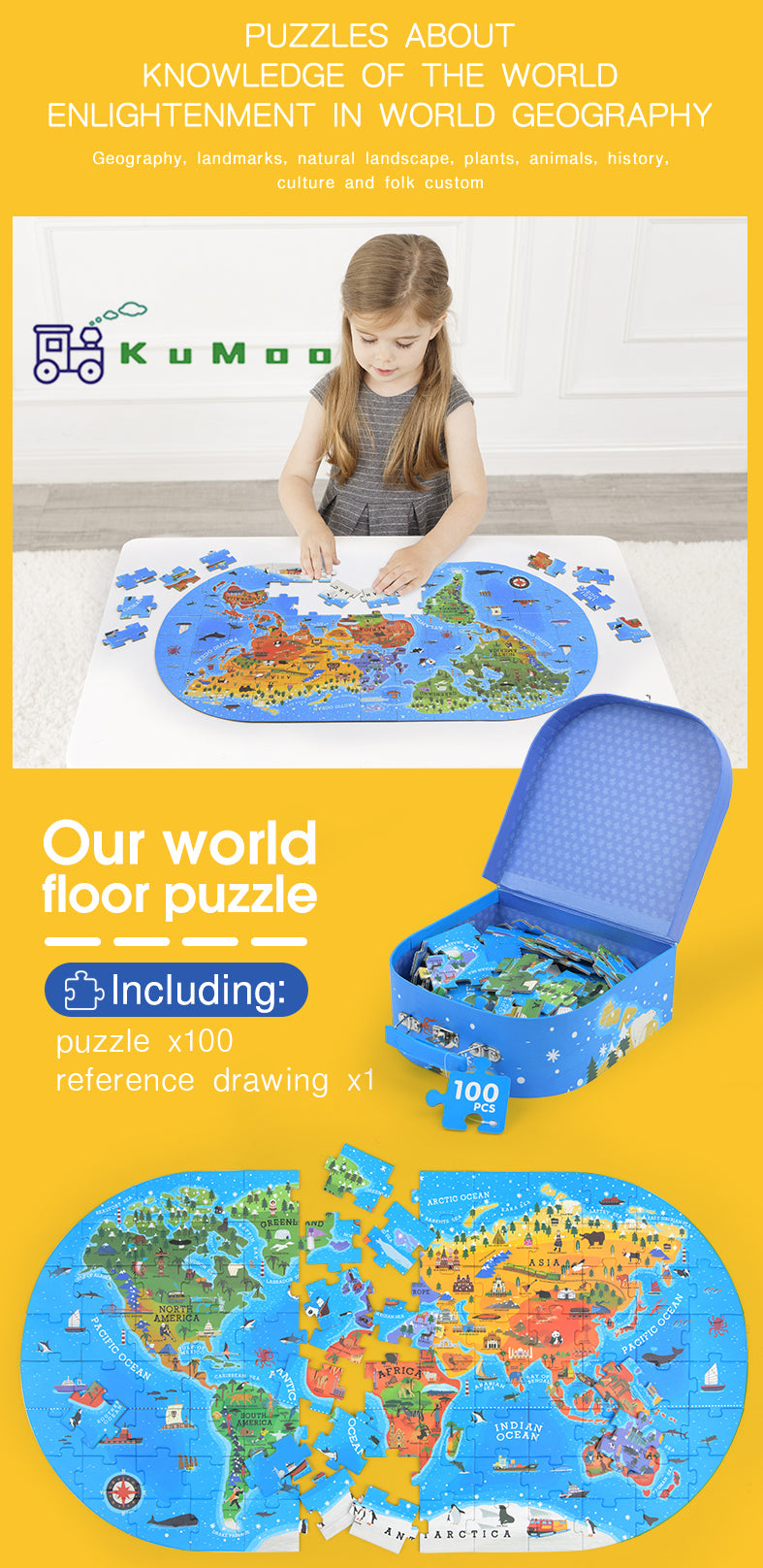 Our World Floor Puzzle