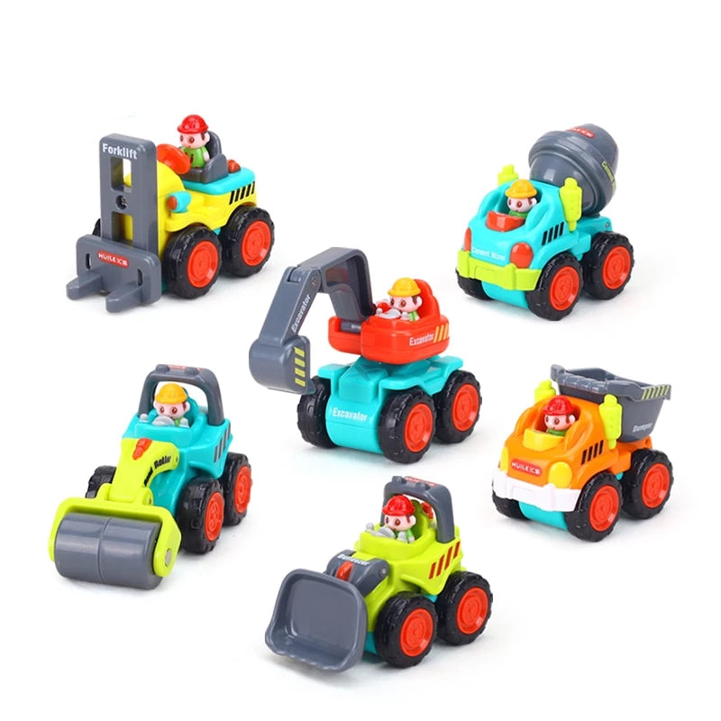 Construction Vehicles ( set of 6 )