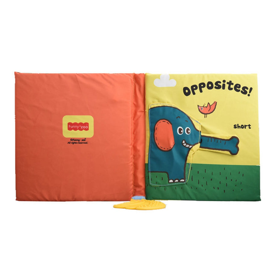 Opposites Interactive Cloth Book
