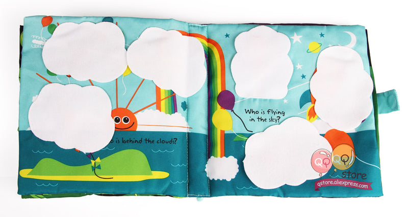 Large Interactive Peek-a-boo Book