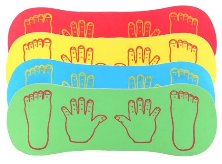 Frog Jumping Boards (4 piece per set)