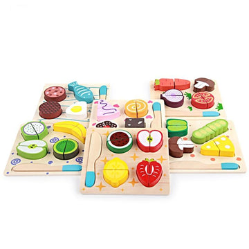 Jamie Oliver Wooden Fruit and Vegetable Set.