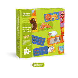 Domino Puzzle Zoo Pals