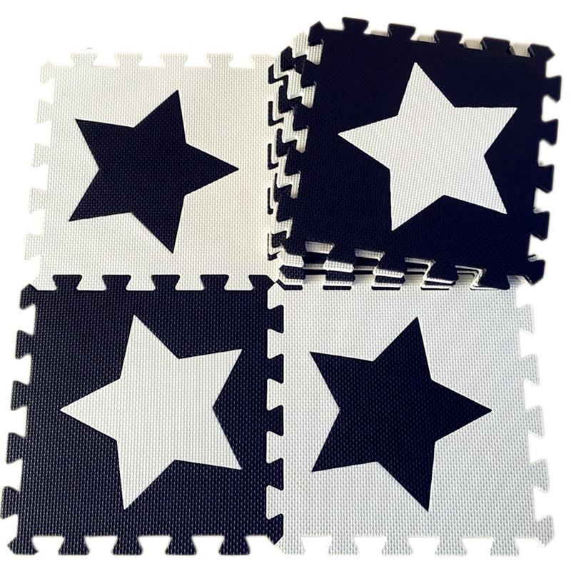 Black And White Floor Pad