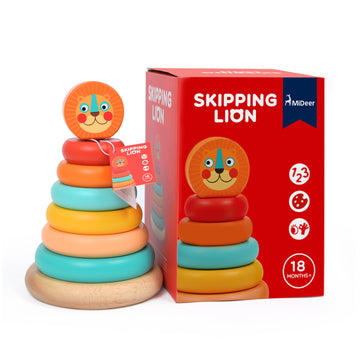 Skipping Lion Stacker