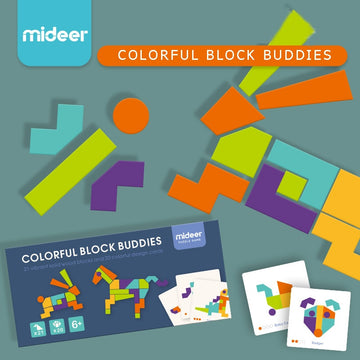 Colorful Block Buddies