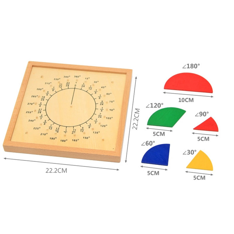 Montessori Fractions and Angles
