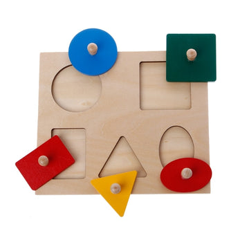 Shapes Puzzle Montessori Board