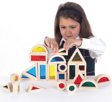 Creative Acrylic Rainbow Building Blocks