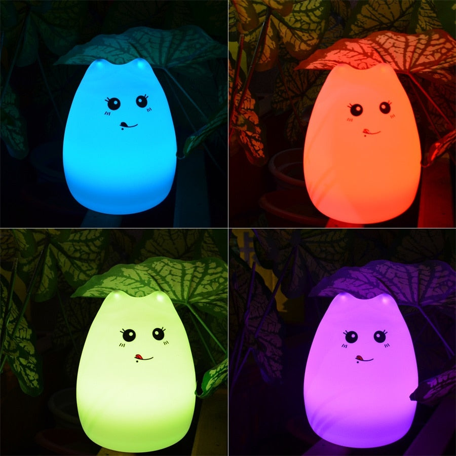 Touch Activated Illuminating Night Light
