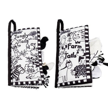 Black and White Animal Tails book