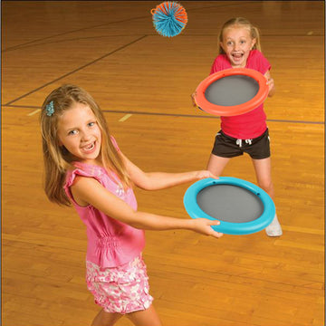 Throw-Catch Bouncy Rackets