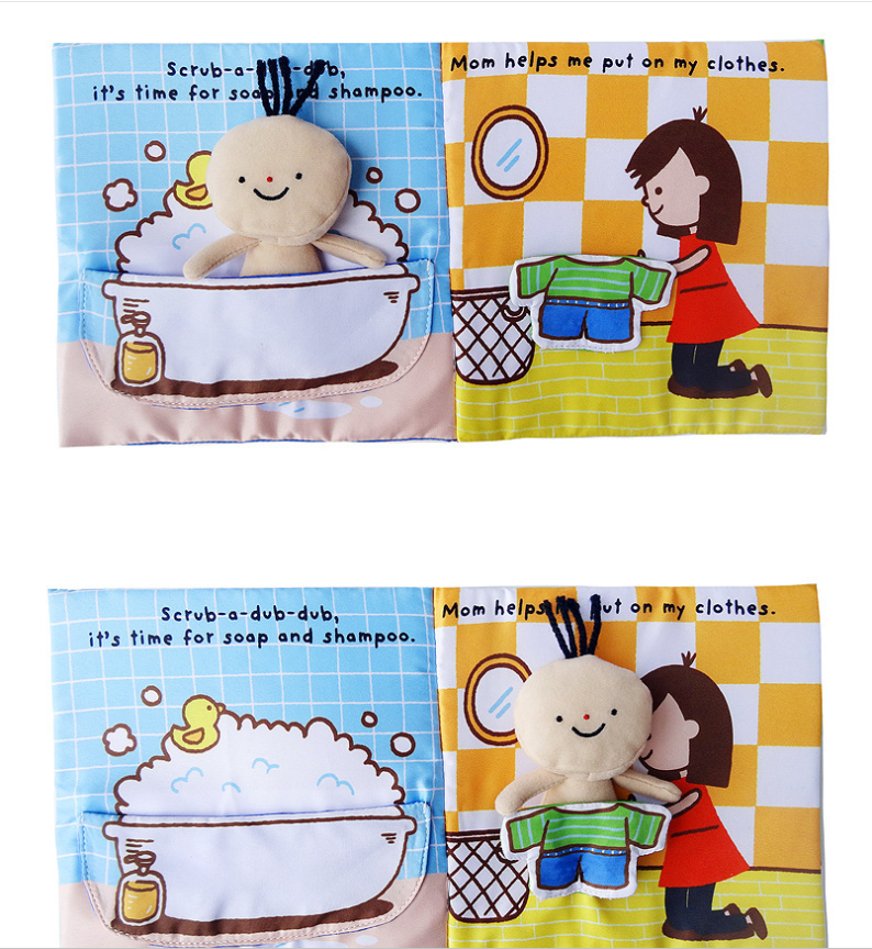 Interactive Bath-Time Book