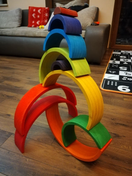 Giant Rainbow Blocks Set