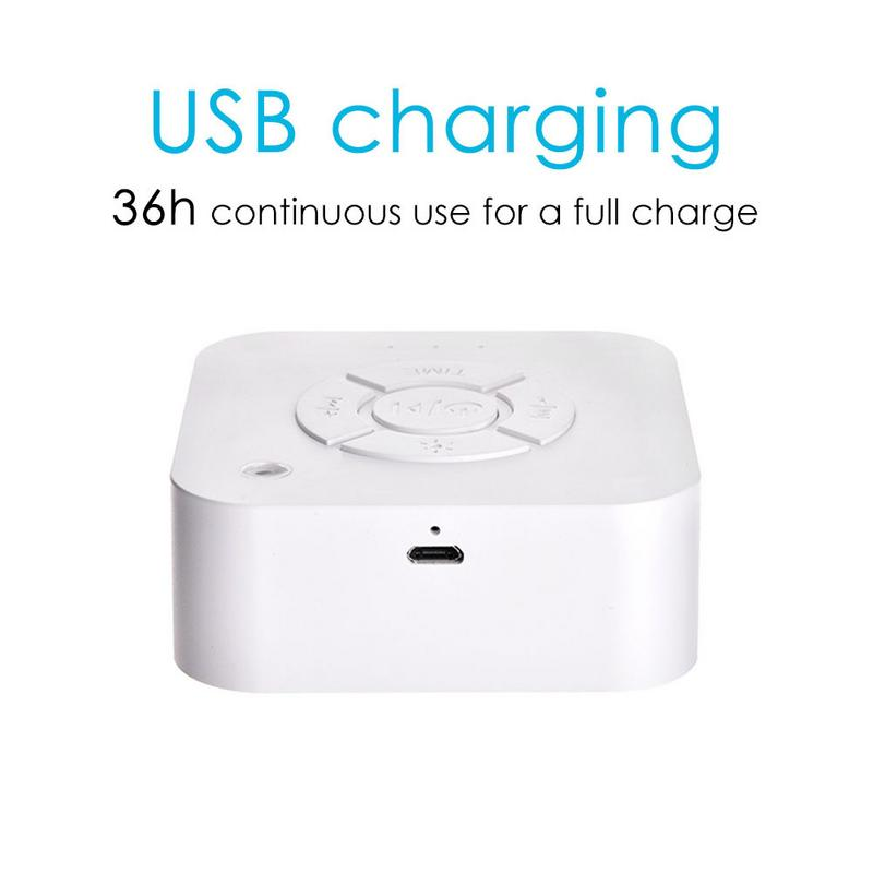 Sleeping White Noise Machine USB Rechargeable Machine