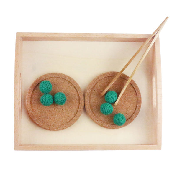 Montessori Practical life  Transferring Activity Set