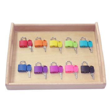Montessori Color Matching Lock Set