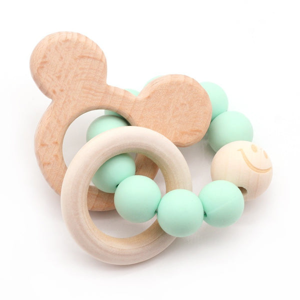 Wooden Teether Animal Teether