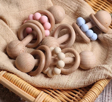 Montessori Wooden rattle