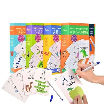 Write and Wipe Activity Cards