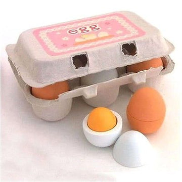 Egg Carton Set Wooden