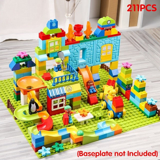 Amusement Park Marble Run Building Set