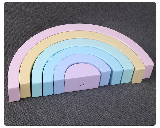 Rainbow Montessori Blocks
