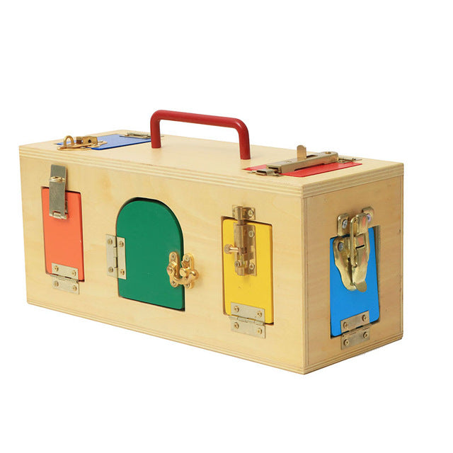 Montessori Lock Box Memory Toy