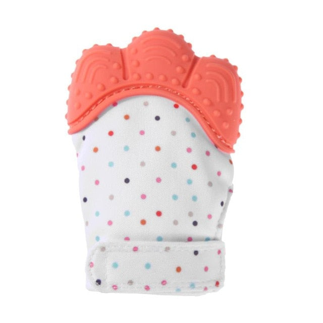 Silicone Mitts Teething Mitten Glove