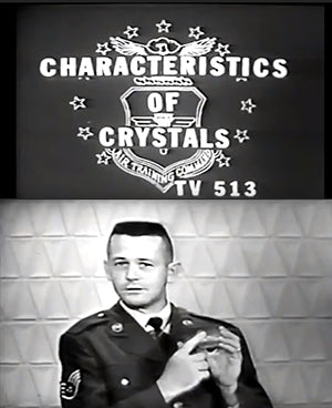 ic:Frames from a 1964 US Air Force Crystal training video.