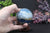 66mm Argentinian Blue Onyx (Calcite) Sphere DE510