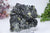 Pyrite, Sphalerite on Galena from 9th of September Mine DC458