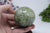 68mm Prehnite with Green Epidote Sphere DF501