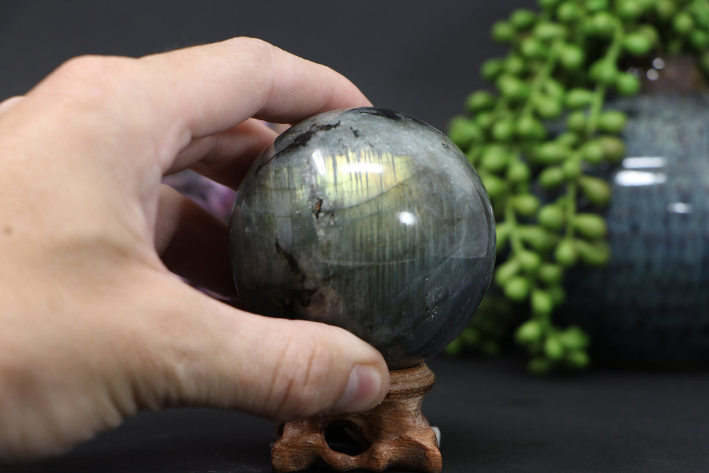 67mm Labradorite Sphere