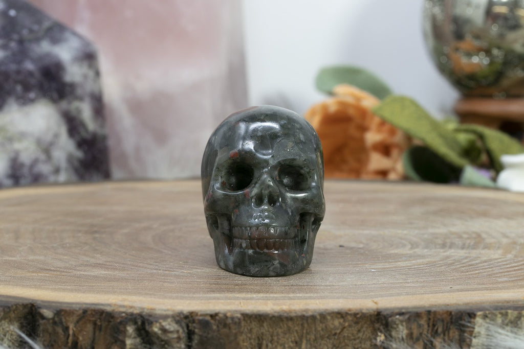 "2"" Dragons Blood Skull"
