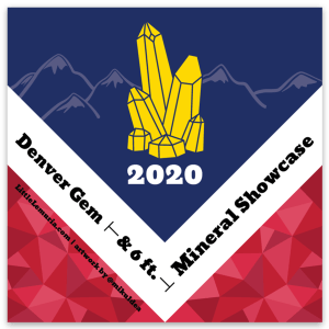 Limited Edition Denver 2020 Gem Show Sticker