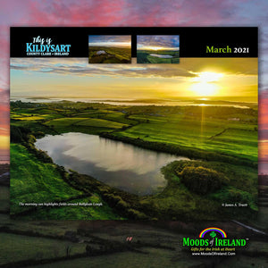 2021 This is Kildysart County Clare Ireland Wall Calendar - James A. Truett - Moods of Ireland - Irish Art