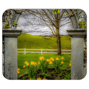 Mousepad - Irish Spring in Ballynacally, County Clare - James A. Truett - Moods of Ireland - Irish Art