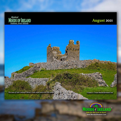 Image of 2021 Inisheer, Aran Islands Wall Calendar - James A. Truett - Moods of Ireland - Irish Art
